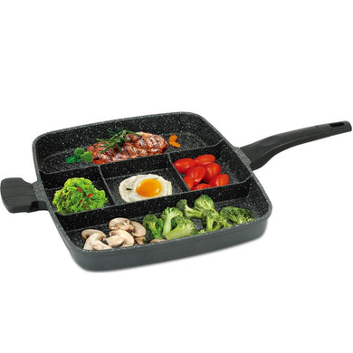 Royalty Line 38cm Marble Coating 5-in-1 Multi Pan