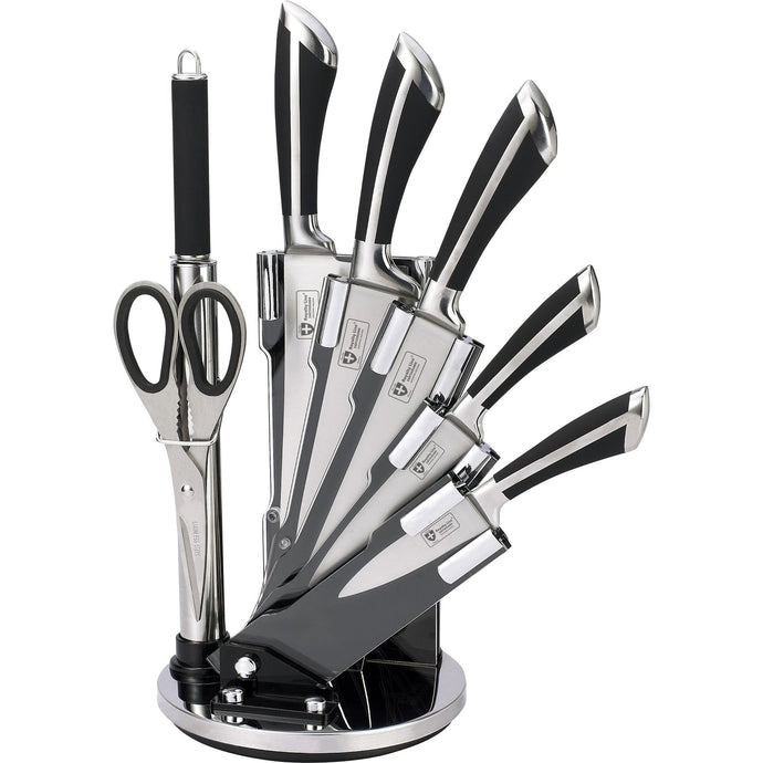 Royalty Line 8-Piece Stainless Steel Knife Set RL-KSS700