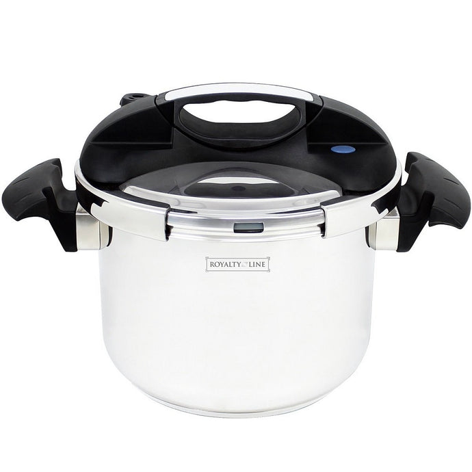 Royalty Line 8L Stainless Steel Pressure Cooker
