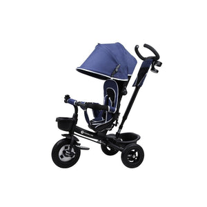 Kinder Line 4 in 1 Baby and Toddler Tricycle Stroller - Blue