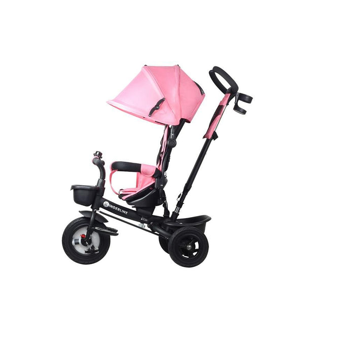 Kinder Line 4 in 1 Baby and Toddler Tricycle Stroller - Pink
