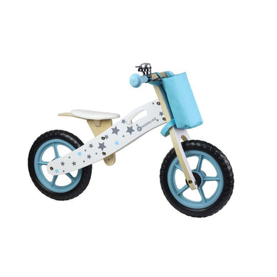 Kinder Line Woodline Wooden Balance Bike - Blue