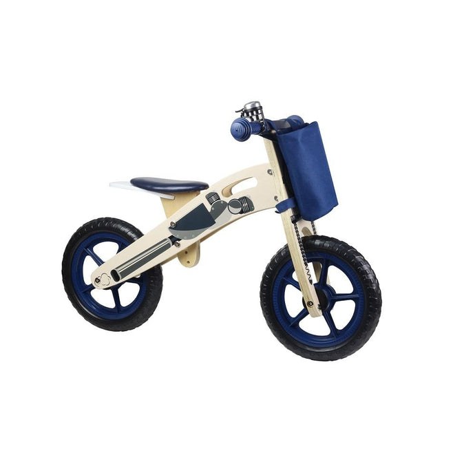 Kinder Line Woodline Wooden Balance Bike - Dark Blue
