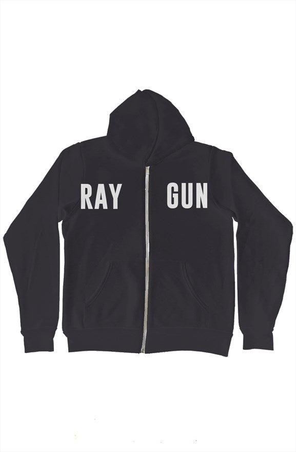 Raygun Zip-Up Gun Hoody