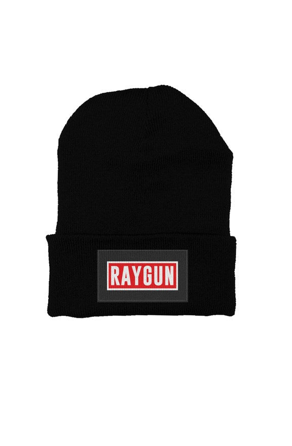 RAYGUN Custom Beanie w/ Embroidered Double Guns