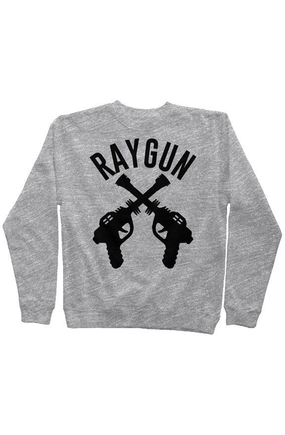 RAYGUN DoubleGuns Old School Gym Sweatshirt