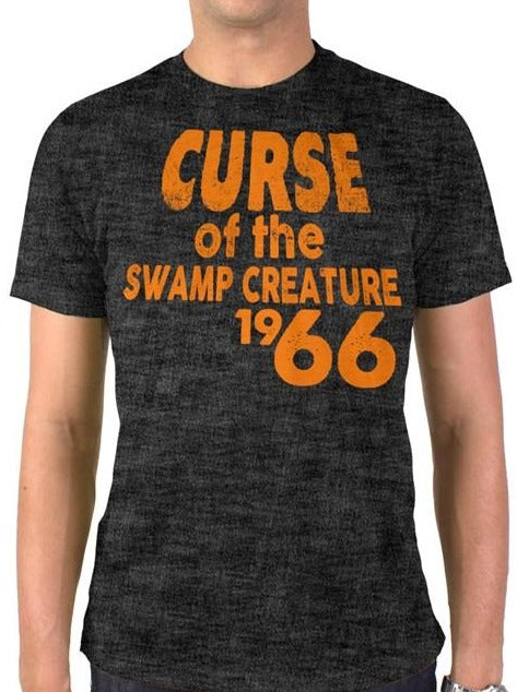 Curse of the Swamp Creature 1966 Vintage Heather Blend T-Shirt