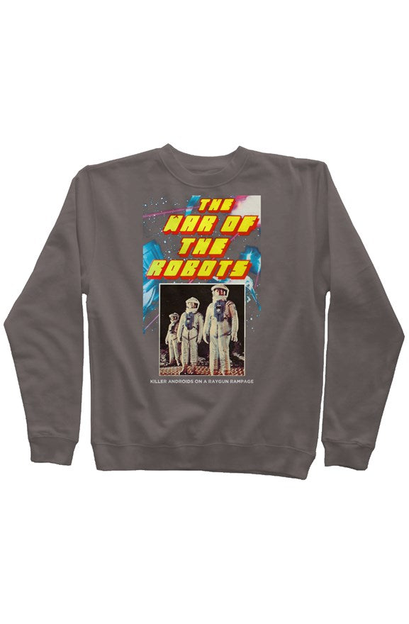 The War of the Robots Vintage Pigment Dyed Sweatshirt