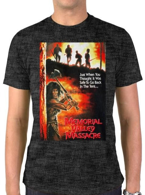 RAYGUN Memorial Valley Massacre Vintage Distressed T-Shirt