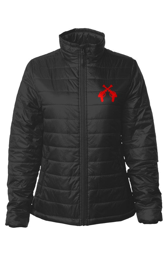 RAYGUN Double Guns Womens Puffer Jacket