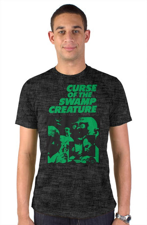 Open image in slideshow, RAYGUN Curse of the Swamp Creature Vintage Heather Blend Charcoal T-Shirt.