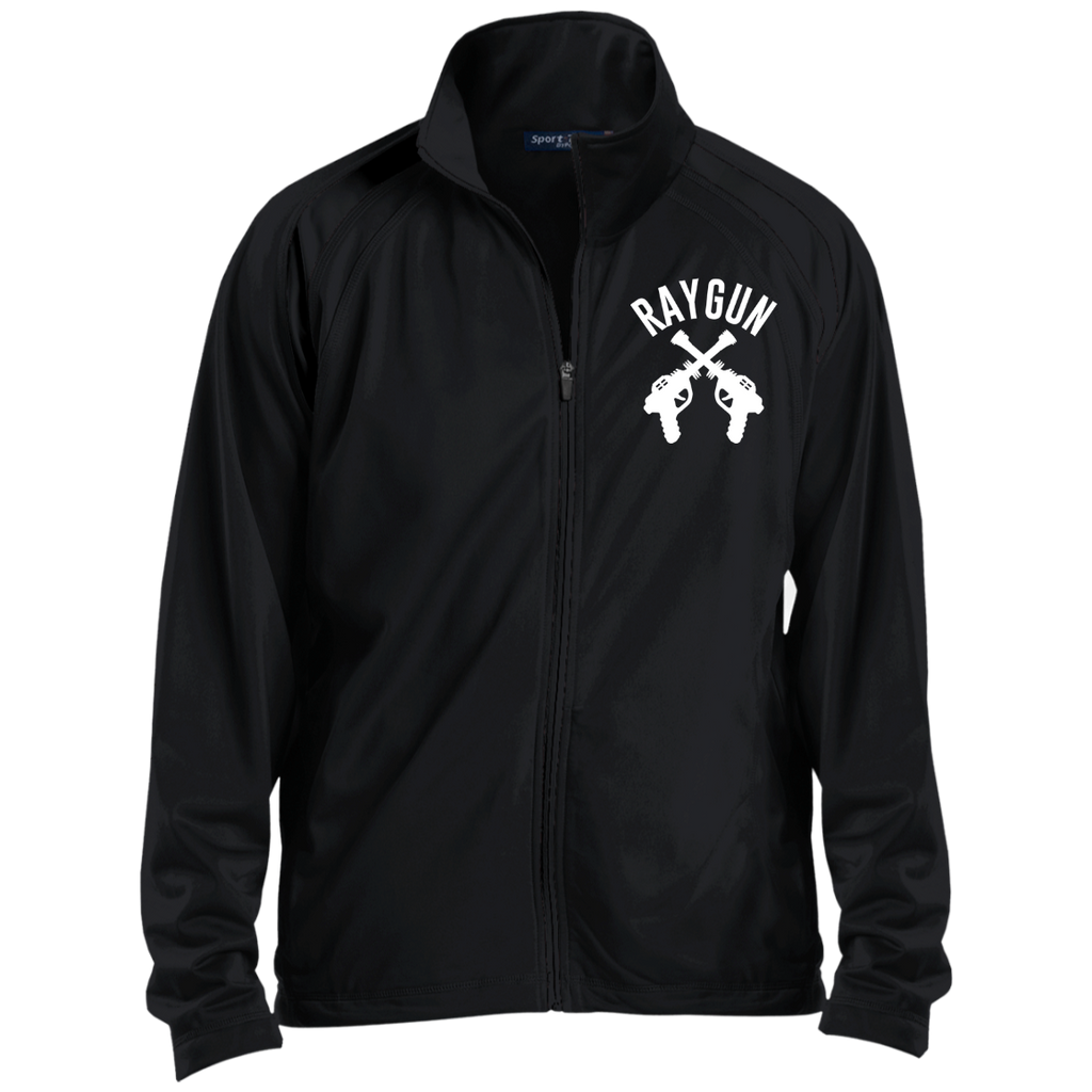RAYGUN Double Guns Men's Raglan Sleeve Warmup Jacket