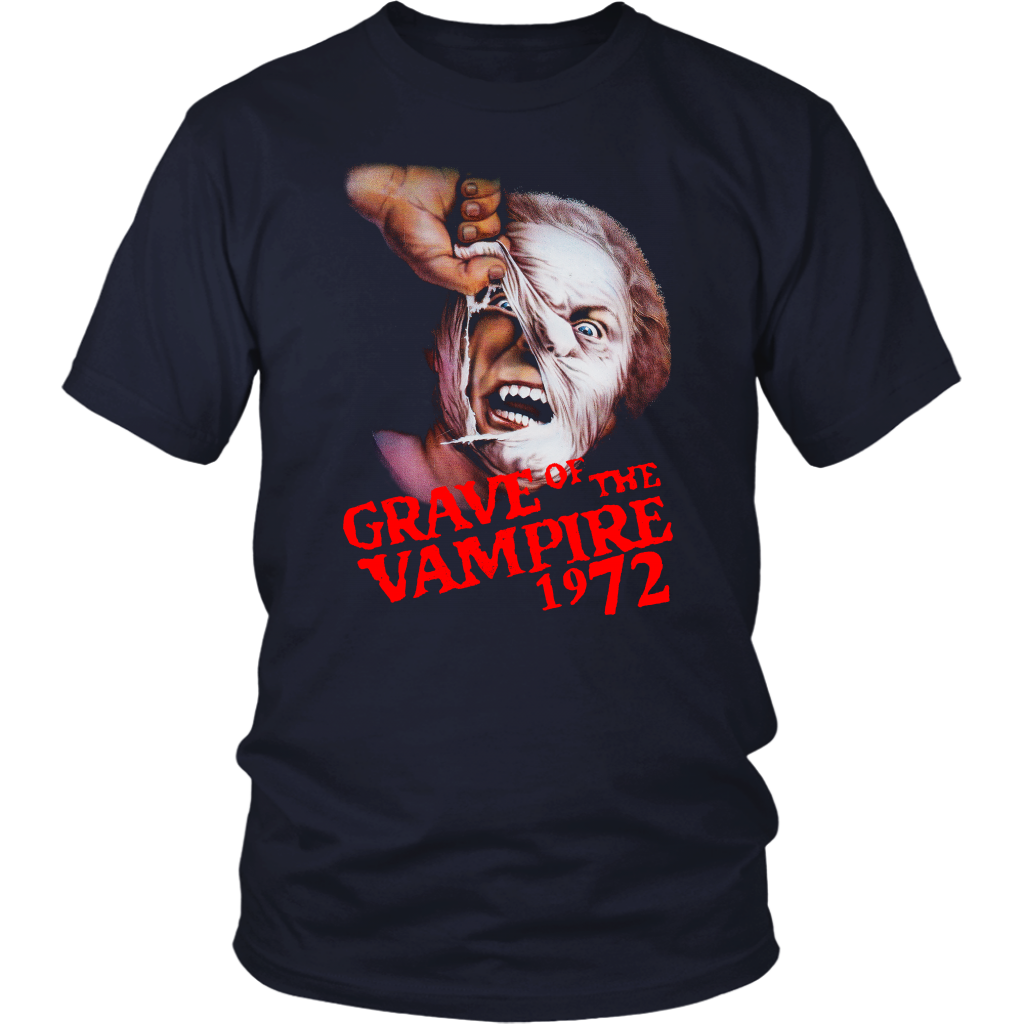 Unisex Grave of the Vampire 1972 Vintage T-Shirt