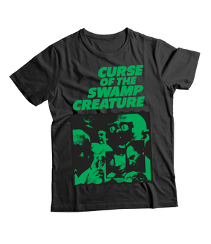 RAYGUN Curse of the Swamp Creature Vintage Heather Blend Charcoal T-Shirt.