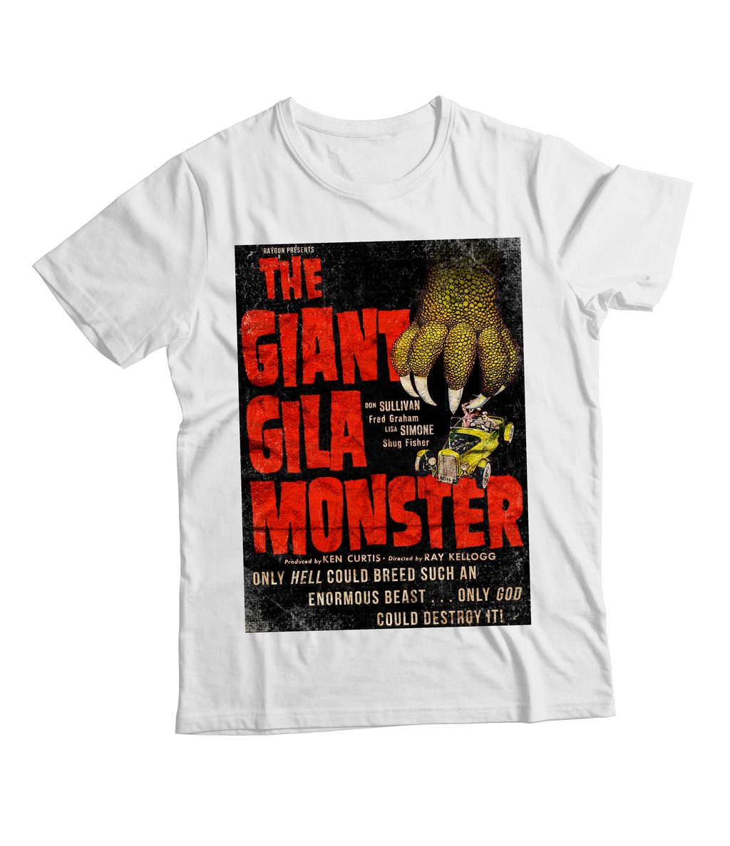 RAYGUN Giant Gila Monster Vintage Distressed T-Shirt