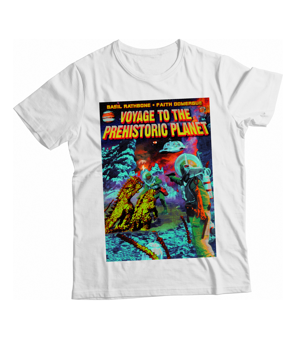 RAYGUN Voyage to the Prehistoric Planet Vintage Heather Blend T-Shirt