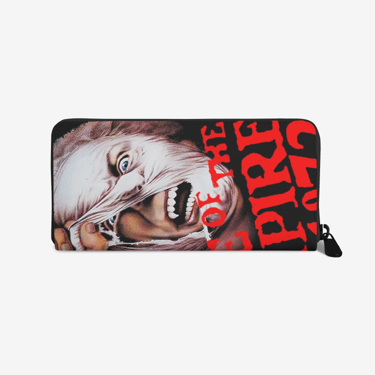 Grave of the Vampire 1972 Premium PU Leather Zipper Wallet