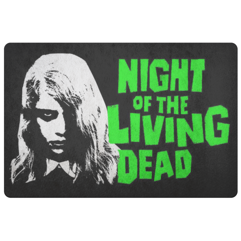 Night of the Living Dead Zombie Girl Floor Mat