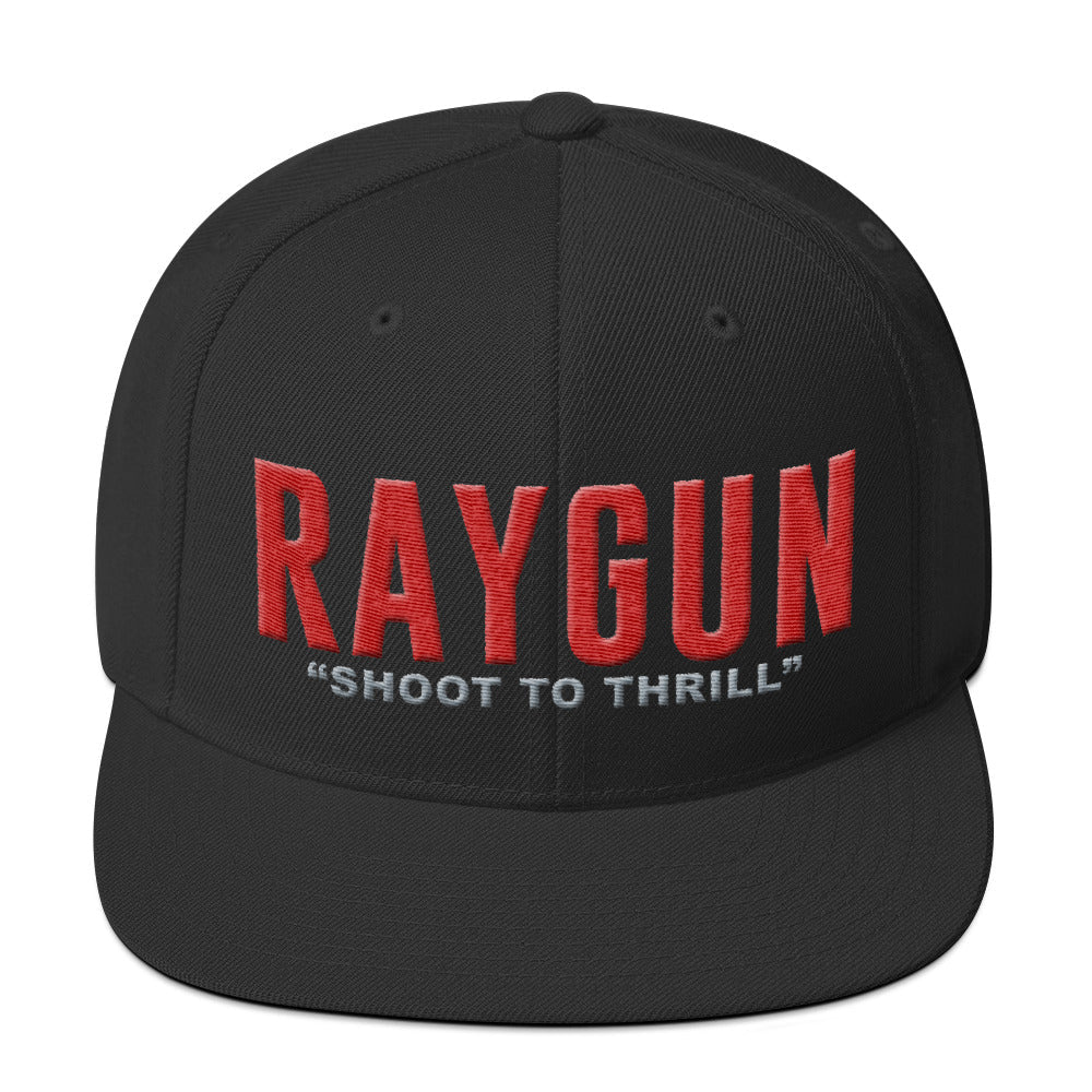 "RAYGUN ""Shoot to Thrill"" Snapback Hat w/ DoubleGuns"