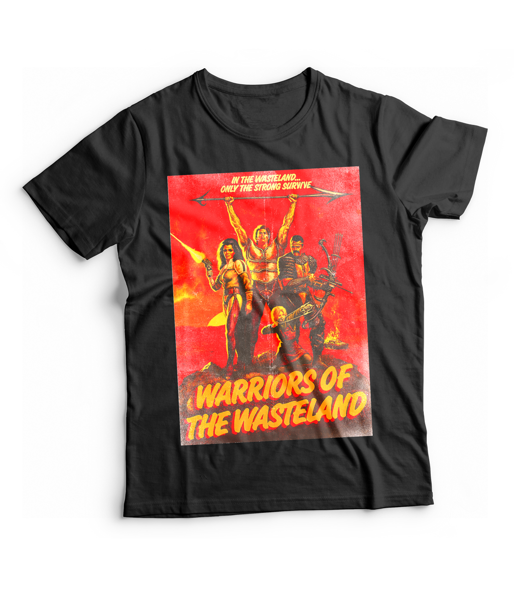 RAYGUN Warriors of the Wasteland Vintage Heather Blend Charcoal T-Shirt