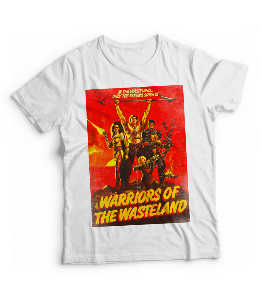 Raygun Warriors Of The Wasteland Vintage Heather Blend T-Shirt Tshirts