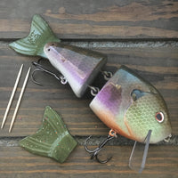 "Toxic Baits 7"" Wade Hoggs Jointed Swimbait"