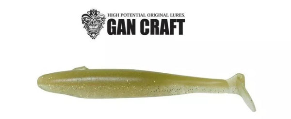 Gan Craft Bariki Shad 6.8 Soft Swimbait