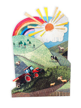Load image into Gallery viewer, 'Busy Farm' - Luxury Greeting Card