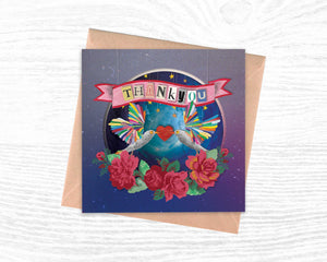 'Thankyou' - Luxury Greeting Card