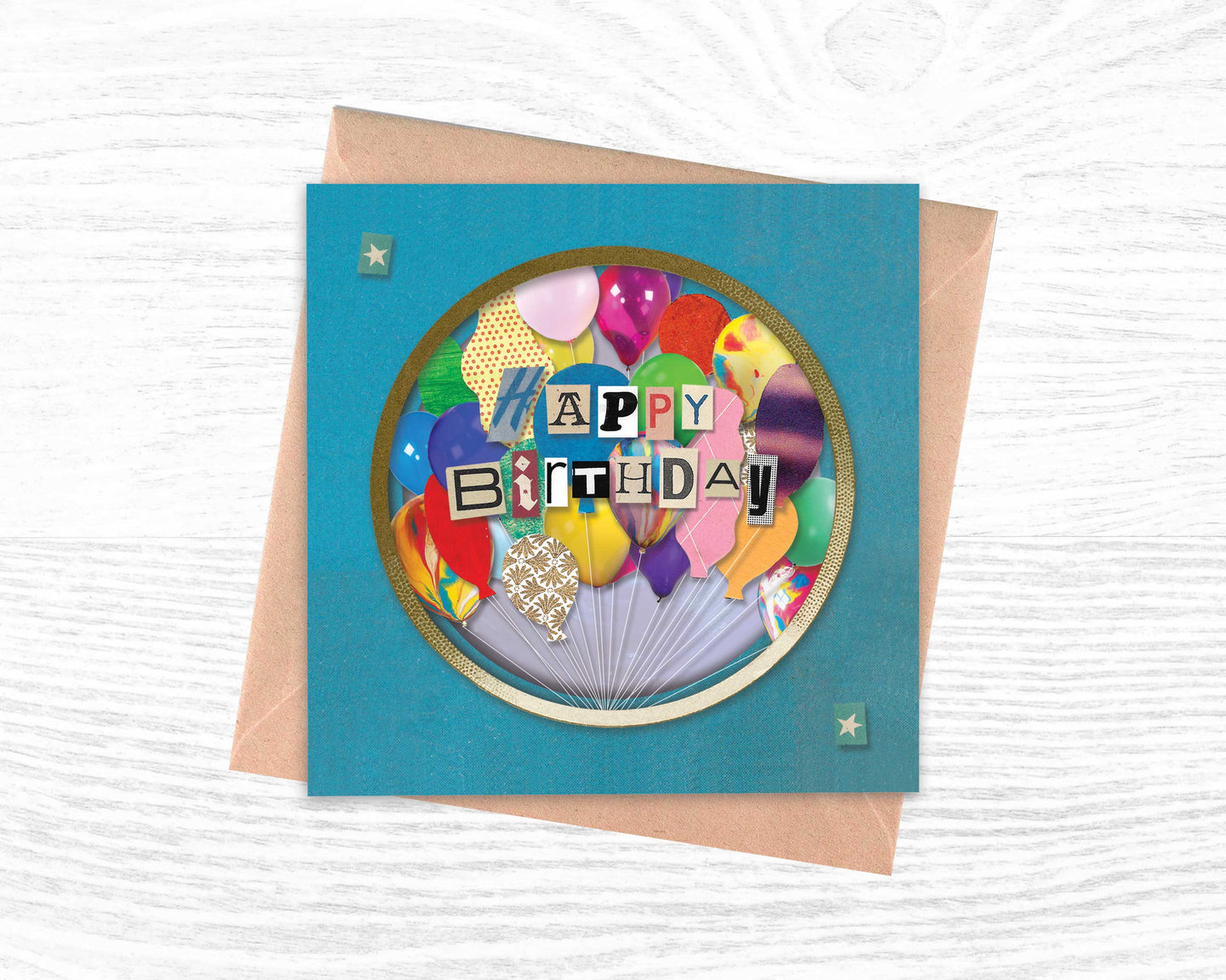 'Happy Birthday' - Luxury Greeting Card