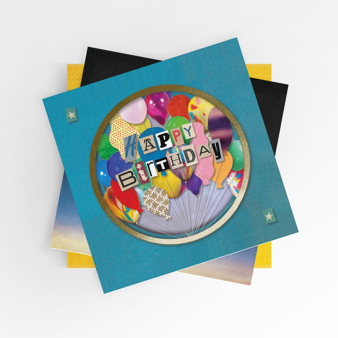 Greeting Card Multipack - The 'Cut Out' Collection x8 designs