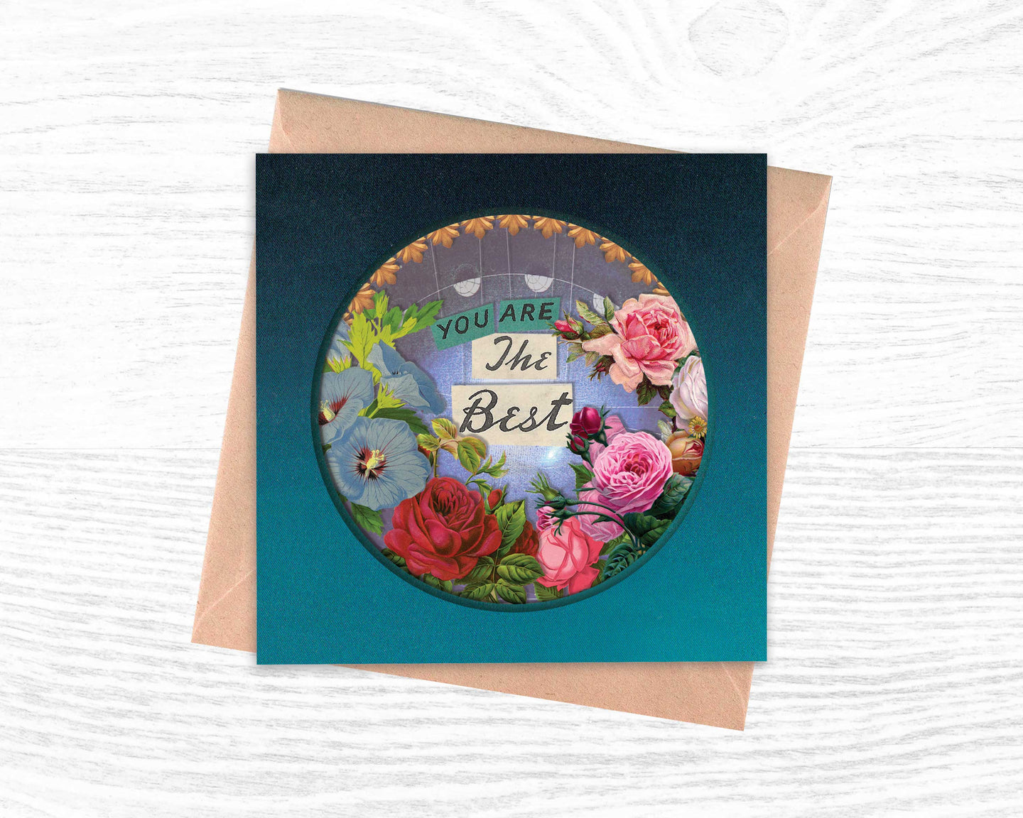 'You Are The Best' - Luxury Greeting Card