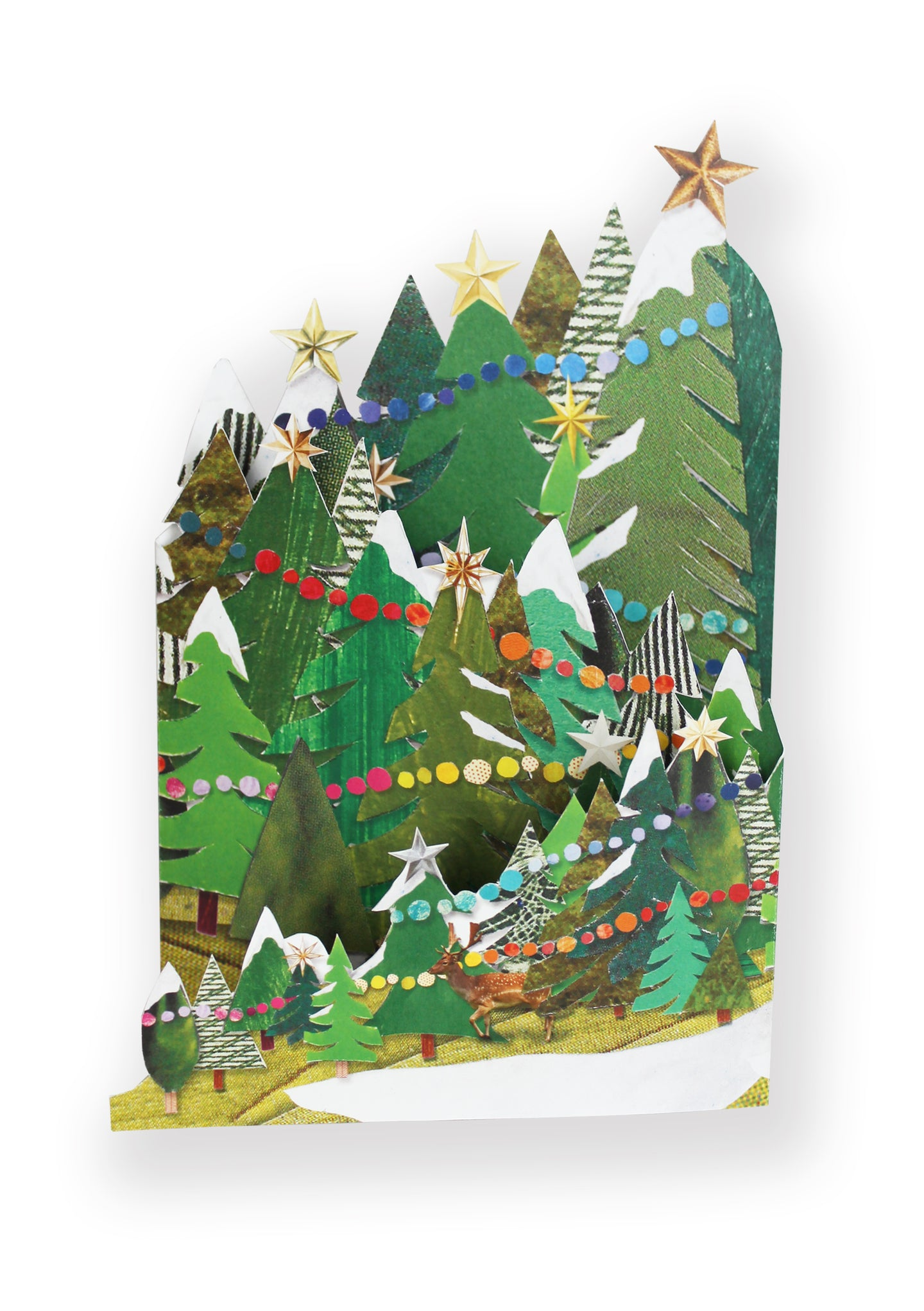 'Festive Forest' Luxury Christmas Card