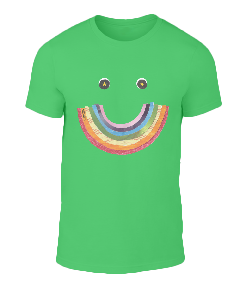 Big Rainbow Smile #1 - Men's Charity T-Shirt