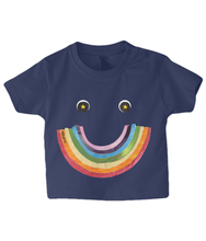 Load image into Gallery viewer, Big Rainbow Smile #2 - Baby Charity T-Shirt