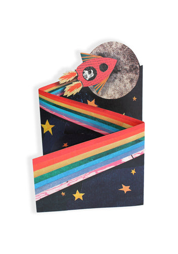 'Rocketman' Luxury Greeting Card