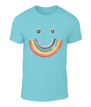 Load image into Gallery viewer, Big Rainbow Smile #1 - Men's Charity T-Shirt