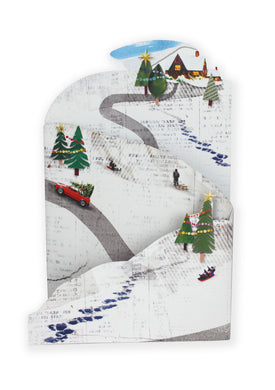 'White Christmas' Luxury Christmas Card