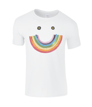 Load image into Gallery viewer, Big Rainbow Smile #2 - Boy's Charity T-Shirt
