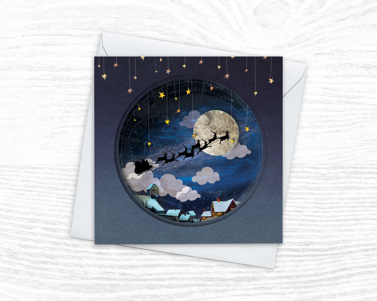 'Starry Christmas Eve' - Luxury Christmas Card