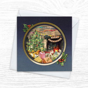 Christmas Card Multipack - x8 'Diorama' designs