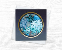 Load image into Gallery viewer, 'First Frost' - Luxury Christmas Card
