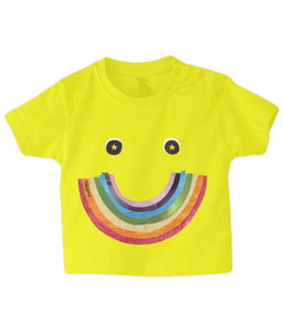 Big Rainbow Smile #2 - Baby Charity T-Shirt