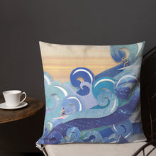 Load image into Gallery viewer, 'Surfer's Paradise' Luxury Filled Cushion