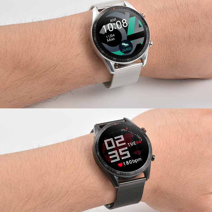 Fitness IP68 Waterproof ECG Sports Pedometer Reminder Smart watch - Aolon