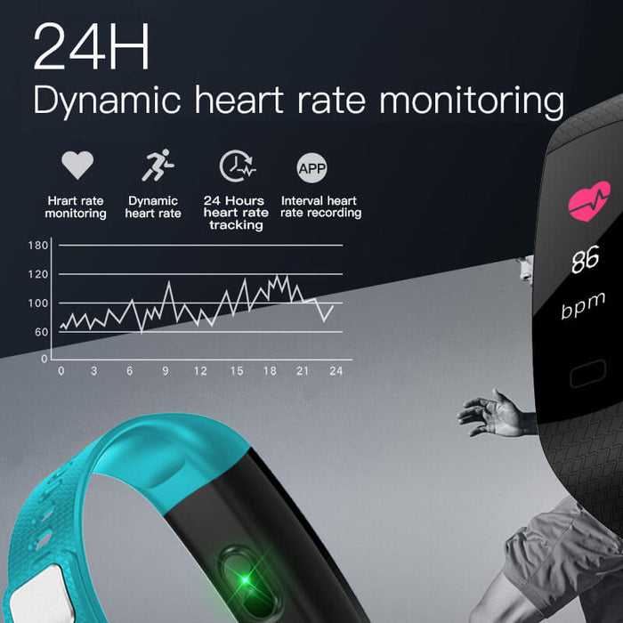 Smart Health HR/BP Activity Pedometer - Aolon