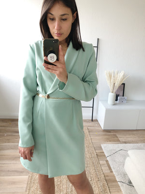 Boss Girl Kleid, mint