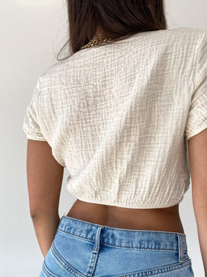 Old Town Top, beige