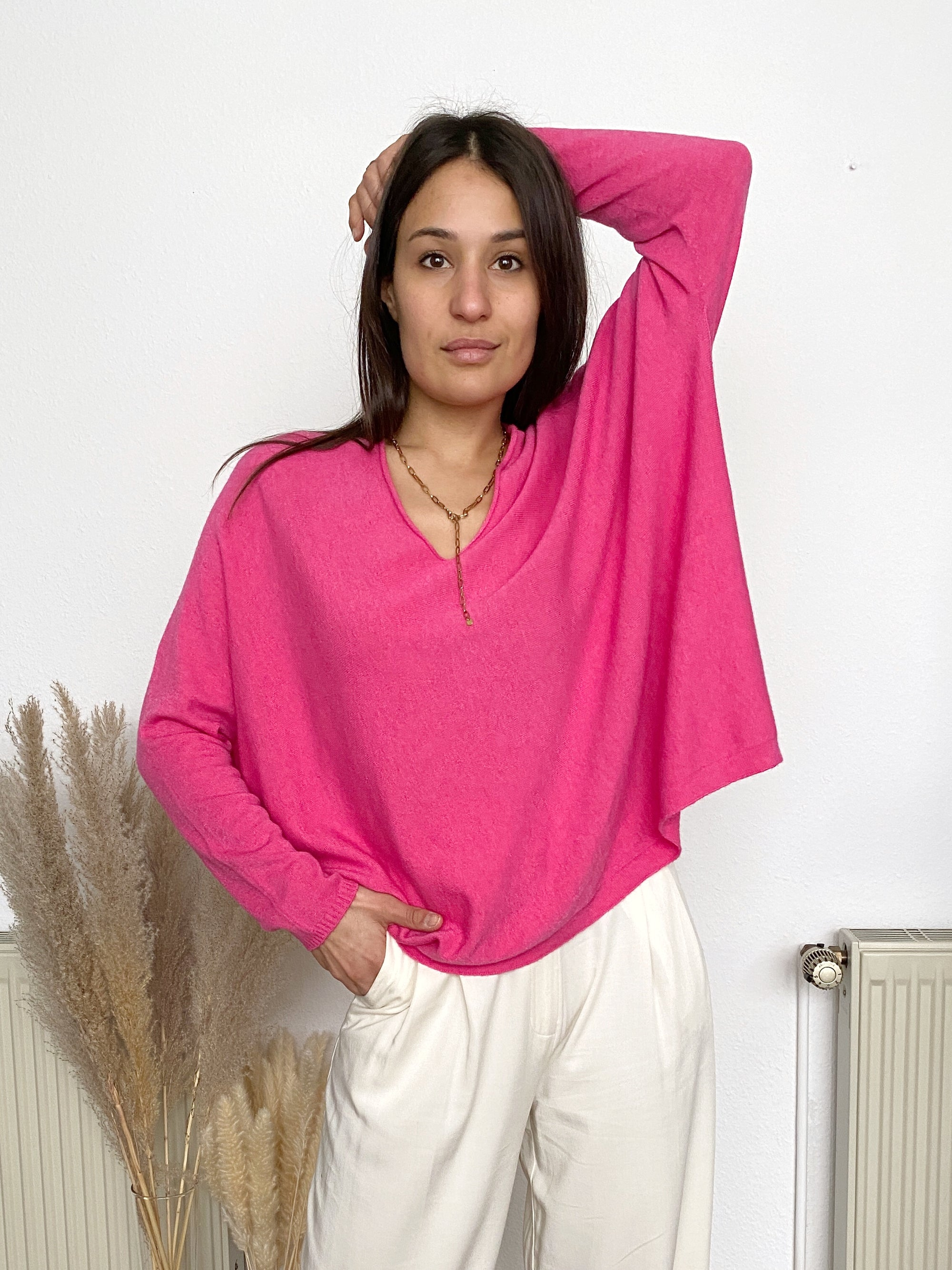 Finally Spring Pullover, pink