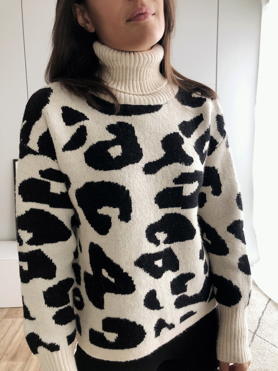 Abstract Leo Pullover